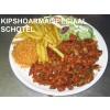 97 schotel Kipshoarma speciaal